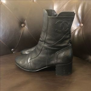AUTHENTIC CHANEL BOOTS!!